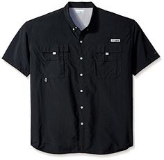 newest a438a 7dfb5 Columbia Mens Bahama II Short Sleeve Shirt 3X Black   Click image to review  more details
