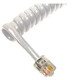 Cablesys ICC-ICHC406FLG GCHA444006-FLG / 6' LT GRAY Handset Cord