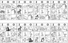 zoo bingo printable- car bingo with stamps or stickers?