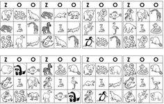zoo bingo http://www.2teachingmommies.com/2011/03/tots-around-town-zoo.html