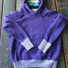 """AE Sweatshirt Pretty purple sweatshirt from AE. This sweatshirt is super soft and comfy! Size Medium. 19.5"""" wide, 21"""" long. This will be a summer favorite! The sweatshirt is not quite as bright of purple as these photos are showing, it is more subtle in person--beautiful! This has only been worn once or twice, great condition! American Eagle Outfitters Tops Sweatshirts & Hoodies"""