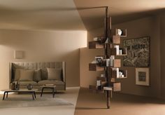 Buy online Albero By poltrona frau, swivel bookcase design Gianfranco Frattini, the collection - furniture and complementary units Collection Best Interior, Interior Design, Design Interiors, Bibliotheque Design, Furniture Collection, Luxury Living, Decoration, Bookshelves, Contemporary Design