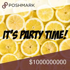 8 Days - Posh Party •02/19/2018 @ 4:00pm• So excited to announce I'm hosting my 4th Posh Party  please join me Presidents Day, Monday 2/19/18 at 4:00pm and shop my presidential picks  more details to come.  REMINDER - To qualify for a host pick your closet MUST be Posh compliant. If you have any questions about whether or not your closet is compliant feel free to reach out!  Please do not advertise on any of my listings except this party notice, thank you! shoplemondrop Other