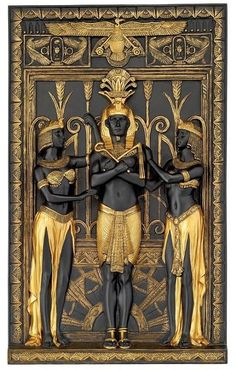 Egyptian Art in black and gold.You can find Egyptian art and more on our website.Egyptian Art in black and gold. Egyptian Pharaohs, Egyptian Symbols, Egyptian Goddess, Ancient Symbols, Egyptian Art, Ancient Artifacts, Egyptian Mythology, Ancient Egypt History, Ancient Aliens