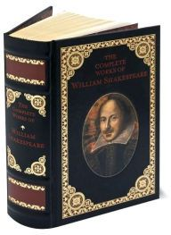 The Complete Works of William Shakespeare!!! This is so awesome!! It's a leather book too! ugh I love this