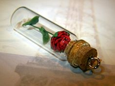 beauty and the beast necklace!