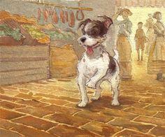 Amy June Bates_puppy dog_cute Illustrations
