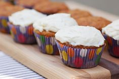 Banana nut bread cupcakes- Used this recipe (used half whole wheat flour and half white flour) but topped with a Strawberry Cream Cheese frosting. Heavenly!