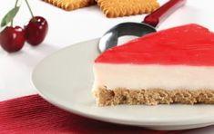 Τούρτα κεράσι με πτι μπερ - iCookGreek Greek Recipes, Recipies, Cheesecake, Deserts, Food And Drink, Cooking Recipes, Sweets, Puddings, Cakes