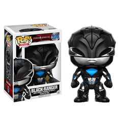 302863f571f Funko POP! Power Rangers - Black Ranger Power Rangers Figures
