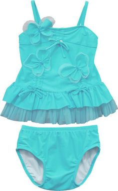 Sugar Plum Fairy Kids Boutique - Isobella and Chloe Baby Girl Ocean Plunge Butterfly Tankini, $30.00 (http://www.sugarplumfairyboca.com/isobella-and-chloe-baby-girl-ocean-plunge-butterfly-tankini/)