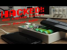 HACKED!: Old laptop battery becomes a Power bank - YouTube