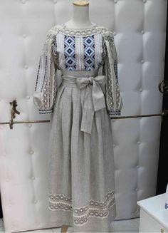 Льняное платье в пол|ПЛ-770002