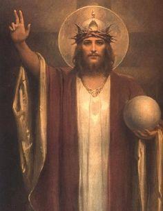 Jesucristo, Rey del universo.