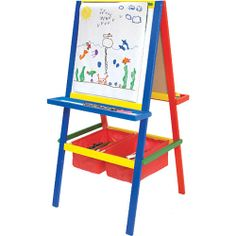 Crayola 3-in-1 Dual Sided Wooden Easel