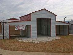 carport+barn | Barn Carports #6 - Carolina Carports Gallery