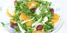 Fennikelsalat med appelsin