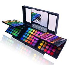 SHANY Cosmetics Lidschatten-Palette, 180Farben - http://uhr.haus/shany-cosmetics/shany-cosmetics-lidschatten-palette-180-farben