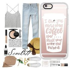 """""""Weekend is good vibes 👒"""" by casetify ❤ liked on Polyvore featuring Kain, Hollister Co., Converse, Yves Saint Laurent, MAC Cosmetics, NARS Cosmetics, Herbivore, Baxter of California, Casetify and Little Barn Apothecary"""