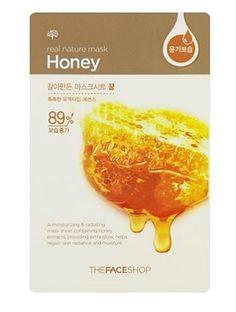 Korea Cosmetic THE FACE SHOP Honey Mask Pack 1pcs #THEFACESHOP