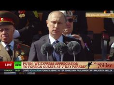 Putin: 'Russia grateful to allies in anti-Hitler coalition' (May 9 FULL ...