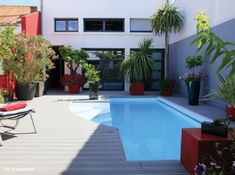 #petite #piscine #patio #vacances #ete #soleil