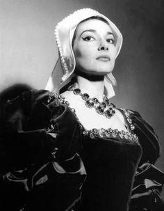 "María Callas. ""Anna Bolena"". Teatro alla Scala. Milano"