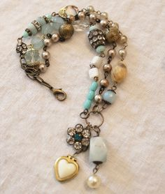 An Affinity for Aqua Bracelet by Andrea Singarella. Just gorgeous!!