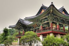 Seoul Temple by LOKA84
