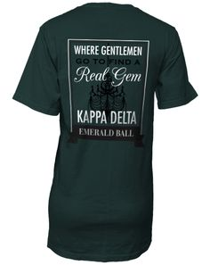 Kappa Delta Emerald Ball T-shirt