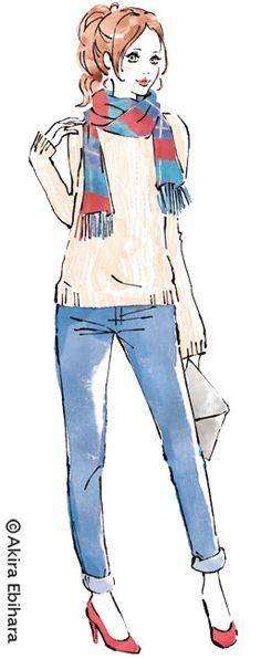 Client: Standard Magazine CO.,LTD _ bea's up 2015.1 Illustration: Akira Ebihara