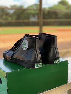 Leather Slip Ons, Leather Sneakers, Leather Men, Black Leather, Pf Flyers, The Sandlot, Sport Wear, Girly Outfits, Sock Shoes