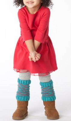 Crochet Legwarmer -- Baby Legwarmers and Toddler Legwarmer Pattern from @joannstores