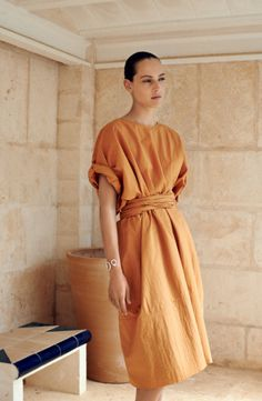 Hermès Vestiaire SS15 Photographer Zoe Ghertner, stylist Camille B Waddington and model Othilia Simon