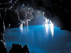 La Grotta Azzura di Capri
