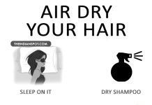 THE RIGHT WAY TO AIR DRY YOUR HAIR FOR STRONG, HEALTHY HAIR