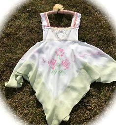 Prairie Sweetheart Pinafore Dress Mudflower Cowgirl Rustic  Boho Beauty by IzzyRoo on Etsy