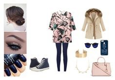 """""""Senza titolo #195"""" by applequeen on Polyvore featuring moda, Converse, H&M, Charlotte Russe, CellPowerCases e Michael Kors"""