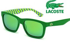 Lacoste Square Sunglasses to Make You Green with Envy