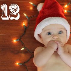 How cute is my new nephew?! He is getting ready for his first Christmas!#12daysofparker #Padgram