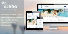 Wordpress Theme: The Hotelier - Responsive Complete Hotel Booking Wordpress Theme