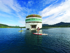 Sail the islands of Tahiti with the award-winning Paul Gauguin Cruises and enjoy private beaches, authentic Polynesian entertainment, exceptional service and 5-star dining.