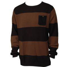 Billabong Mens Sweater Brighton Navy