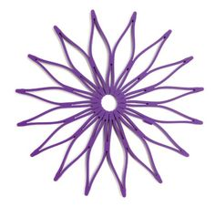 Blossom Multi-Purpose Flower Shaped Silicone Trivet, Hot Pad and Coaster; 8.75-Inches; Purple; Microwave Safe Spice Ratchet http://www.amazon.com/dp/B007QHYPFG/ref=cm_sw_r_pi_dp_Q0wUwb1CQ3RGE