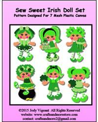 Sew Sweet Irish Dolls Set