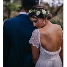 """""""Tessa looking the true beauty (wearing our Emme-waisted dress) View the real wedding on our website now x  Damien Furey"""""""