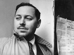 """""""Talent is beauty; talent is joy. Beauty is its own reward, and this is true of talent. When you see it--when you are affected by it--you know it; you are in its possession; you are changed.""""-Tennessee Williams #FolliesofGod"""