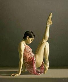 beautiful dance pose