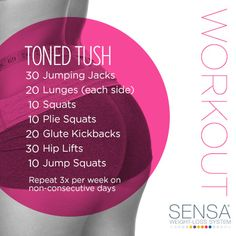 Tone that tush with this easy beginner's workout!