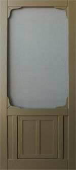 Coppa Woodworking, LLC coppawoodworking.com  Wood Screen Door Dog/Cat Door